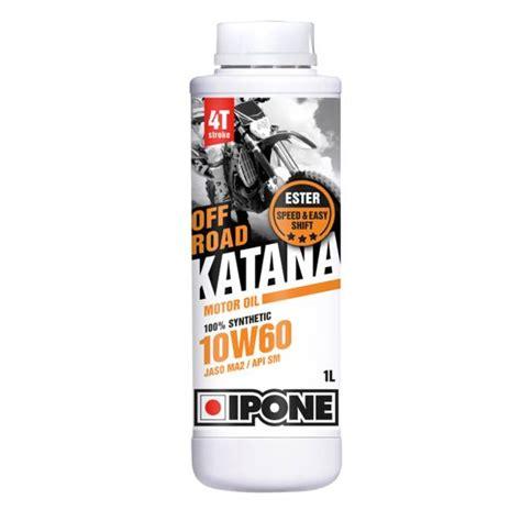 ipone katana road 10w60 1l mcom moto