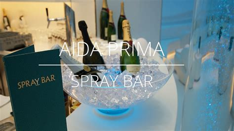 aidaprima spray bar aidaprima spray bar