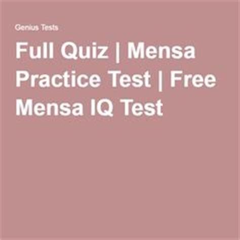 printable mensa iq test mensa iq test iq test online test my iq mensa level