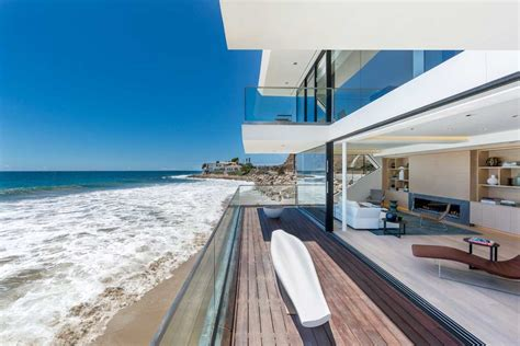 luxury house design in malibu the wave house by architect dziewulski in malibu