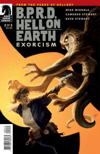 b p r d hell on earth volume 1 books b p r d hell on earth exorcism volume comic vine