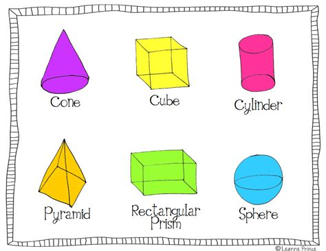 printable 3 dimensional shapes free 3 dimensional shapes worksheets search results