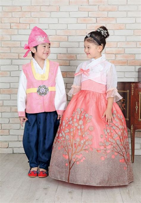 korean dress is called hanbok for girl s first by