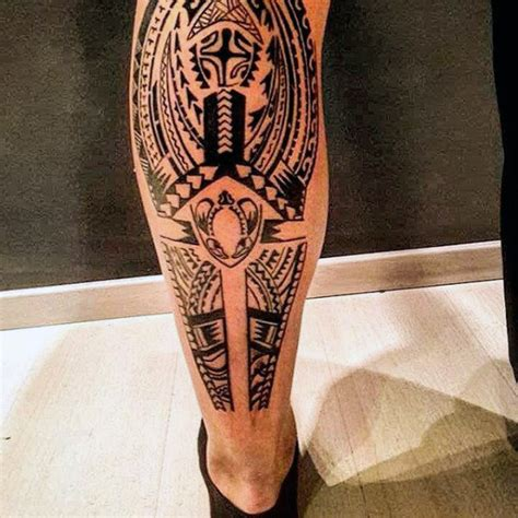 tribal tattoos leg 60 tribal leg tattoos for cool cultural design ideas