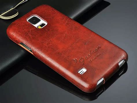 Handmade Leather Phone Cases - for samsung galaxy s5 handmade luxury leather phone