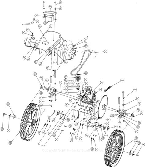 rear axle assembly diagram billy goat mv650sph parts diagram for drive rear axle assembly