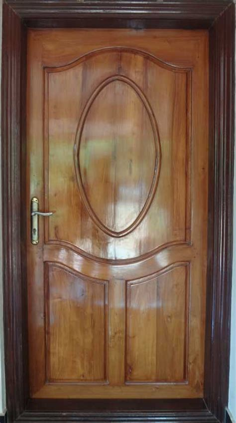 House Front Single Door Design by Kerala Model Wooden Single Door Designs Best Collection