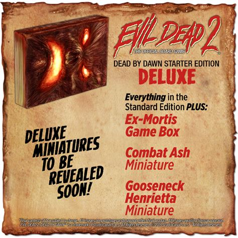 the the deluxe edition year two get groovy with the evil dead 2 board on kickstarter