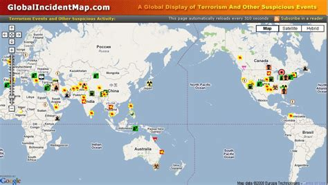global incident map we saw that global incident map terrorism as it happens 2015 169