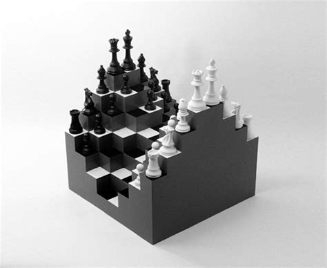 best chess design a prettyboy s blog 3d chess board by ji lee