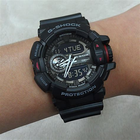 Casio G Shock Ga400 Black Vire casio ga 400 1b watches casio g shock watches at bodying my
