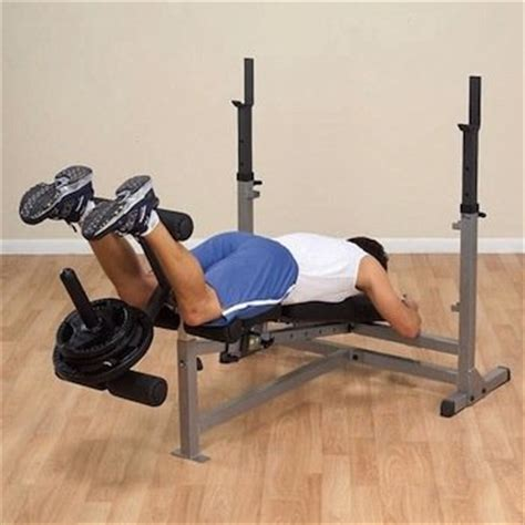 back extensions without bench amazon com body solid gdib46lp olympic bench package