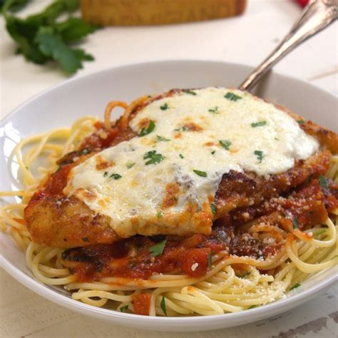 veal parm easy chicken parmesan