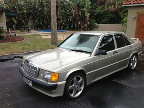 how to sell used cars 1987 mercedes benz e class engine control sell used mercedes benz 1987 190e four door mercedes sedan for sale by owner in st petersburg