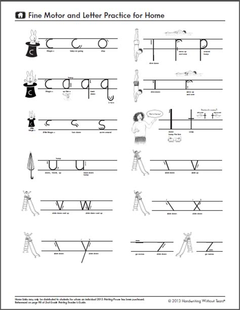 handwriting letter formation gorr handwriting
