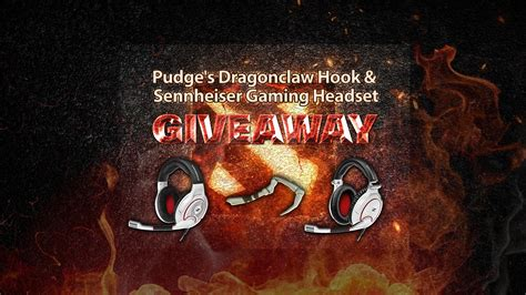 Dota2lounge Giveaway - dragonclaw hook and sennheiser gaming headset giveaway gt gamersbook