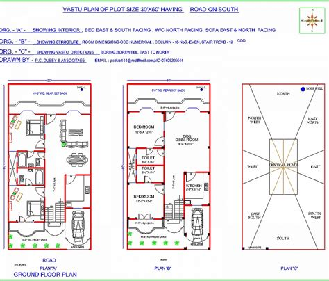 House Plan Elegant South Facing Plot East Facing House South Facing Plot East Facing House Plan