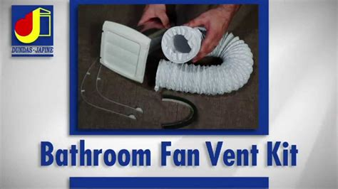 installing a bathroom vent through the wall dundas jafine installation bathroom fan vent kit youtube