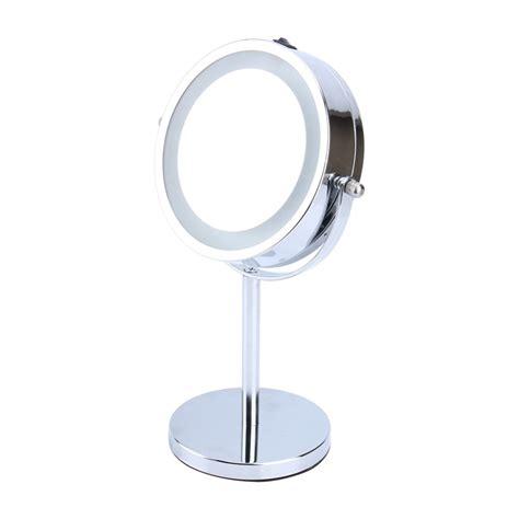 cheap led bathroom mirrors led bathroom mirror 6inch 5x magnifying round led mirror