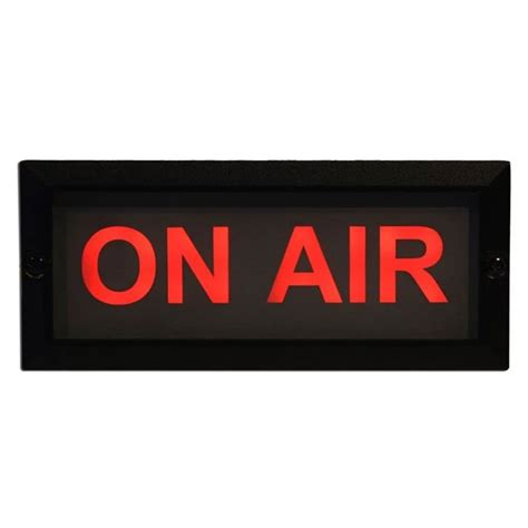 On Air In mode machines oal 1 on air led studiol at gear4music