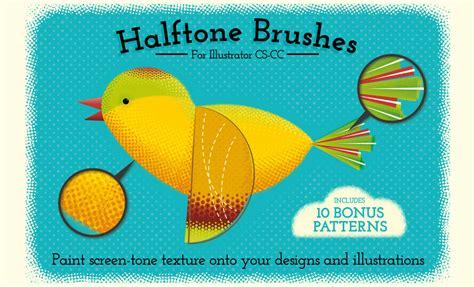 adobe illustrator create pattern brush halftone brushes halftone patterns for ai