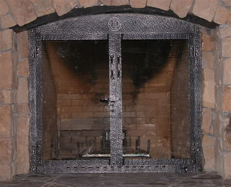 Custom Doors: Fireplace Custom Doors