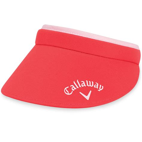callaway golf 2016 womens metal clip sun golf sports visor hat