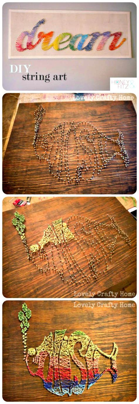 Diy String Tutorial - 40 most creative diy string projects you can do diy