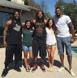 deandre jordan with his girlfriend amber alverez family