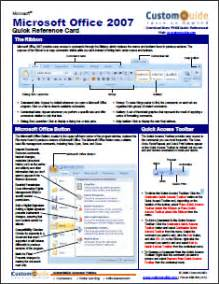 Office Cheats 14 Application Sheets Posters For Popular Programs