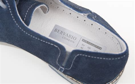 shoe labels for custom printed fabric self adhesive labels