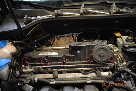 Volkswagen 2 5l Engine by Vw 2 5l 5 Cylinder Valve Cover Diy And Info Deutsche