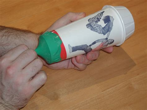 How To Make A Paper Cannon - paper cup air cannon