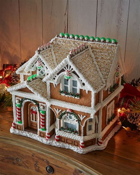 amazing traditional christmas gingerbread houses family