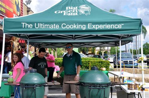 big green egg bbq cookout demo s sunset feed supply miami