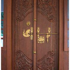 kerala wooden front double door designs double doors