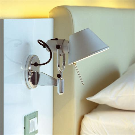 Tolomeo Applique by Tolomeo Micro Faretto Led Applique Murale Artemide