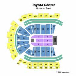 Toyota Center Number Toyota Center End Stage Seating Chart Toyota Center End