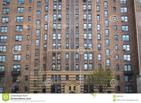 Appartment New York by Apartment Building Manhattan New York City Stock Image