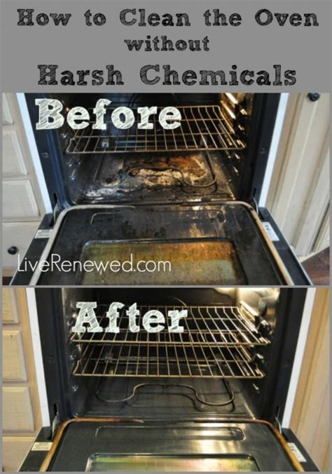 how to clean ovens without harsh chemicals diy tag