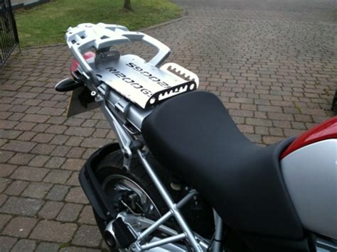 bmw gs seat bmw r1200gs rear seat area covering plate rack
