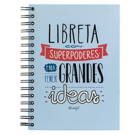 libro superpoderes del xito para libreta mr wonderful con superpoderes para tener grandes ideas 183 papeler 237 a 183 el corte ingl 233 s