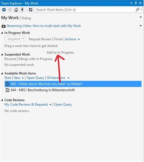 reset tfs settings visual studio tfs in visual studio change work item state when