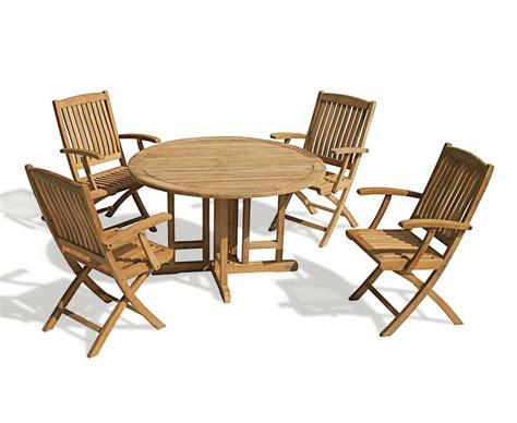 drop leaf table and 4 chairs berrington drop leaf garden table and arm chairs
