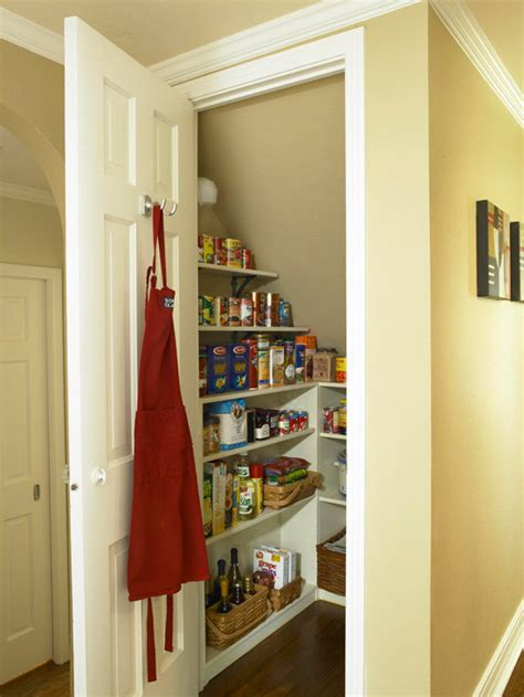 Small Space Pantry Establish An Efficient Pantry Convert The Space The