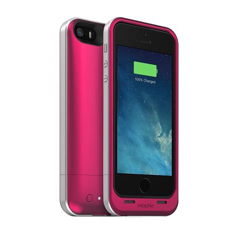 iphone 5 cases mophie juice pack air protective battery charger for iphone 5 se 5s 5 ebay