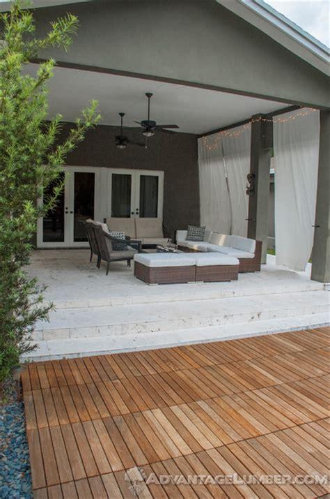 miami ipe deck tiles contemporary patio miami by