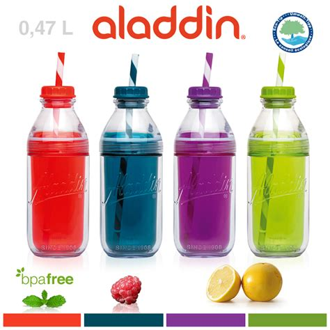 Mason Jar Bathroom by Aladdin Insulated Milk Bottle Tumbler 0 47 L Cookfunky