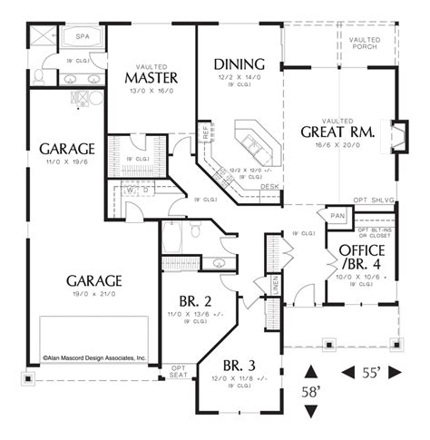 one story open house plans png house plans studio design gallery best design