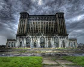 Built in 1913 michigan central station is one of detroit s hallmarks